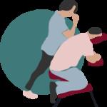 Massage assis (Amma) en entreprise - Okasio