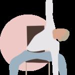 Yoga sur chaise en entreprise - Okasio